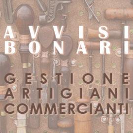 Avvisi Bonari sulla rata in scadenza a novembre 2019 per gli iscritti alla Gestione Artigiani e Commercianti.