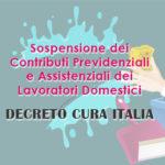 """Decreto """"Cura Italia"""": Sospensione dei Contributi Previdenziali e Assistenziali dei Lavoratori Domestici."""