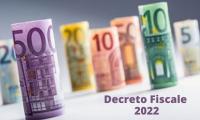 Dal CdM via libera al decreto fiscale 2022